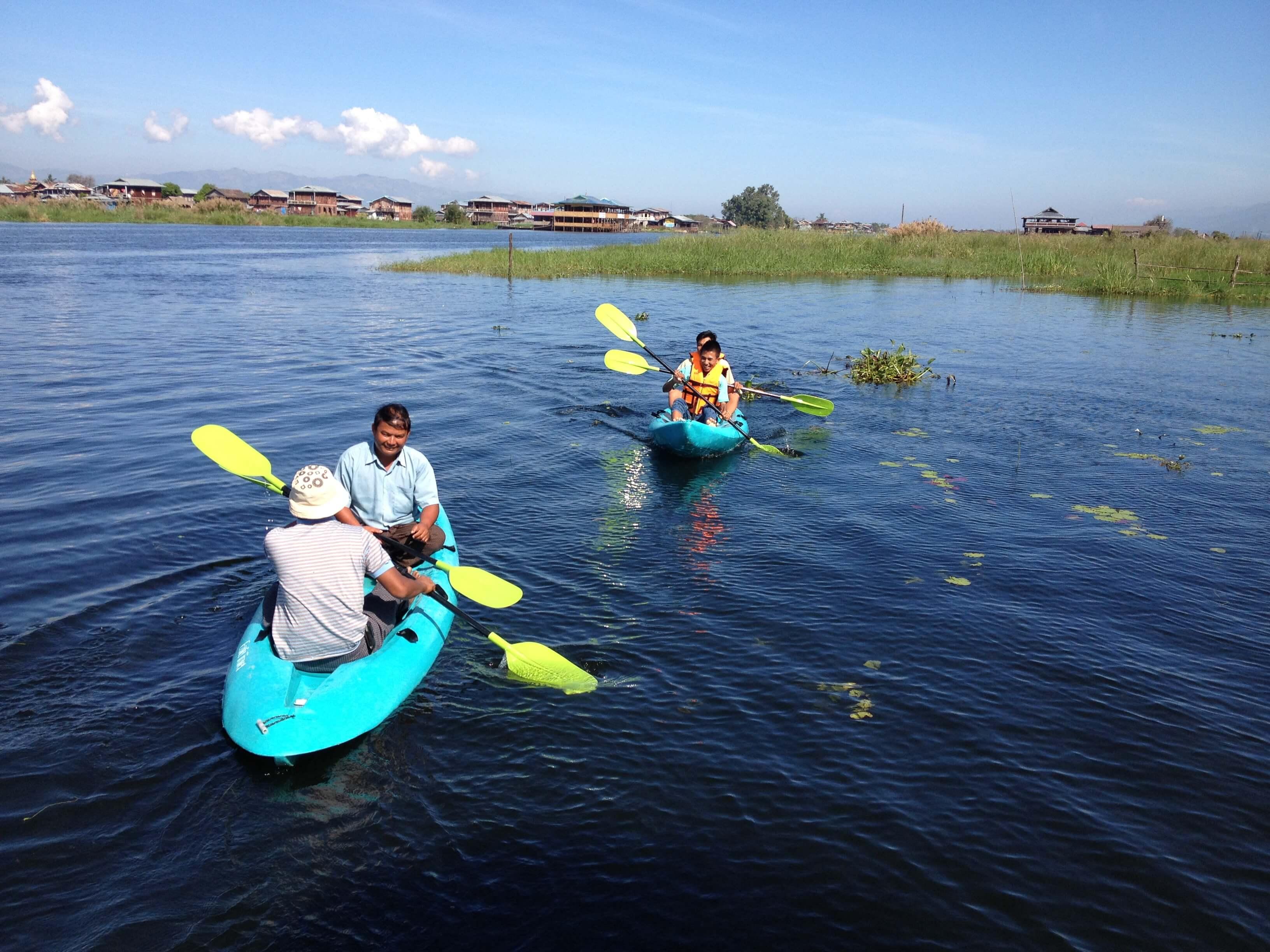 Inle Lake Kayaking tour 3