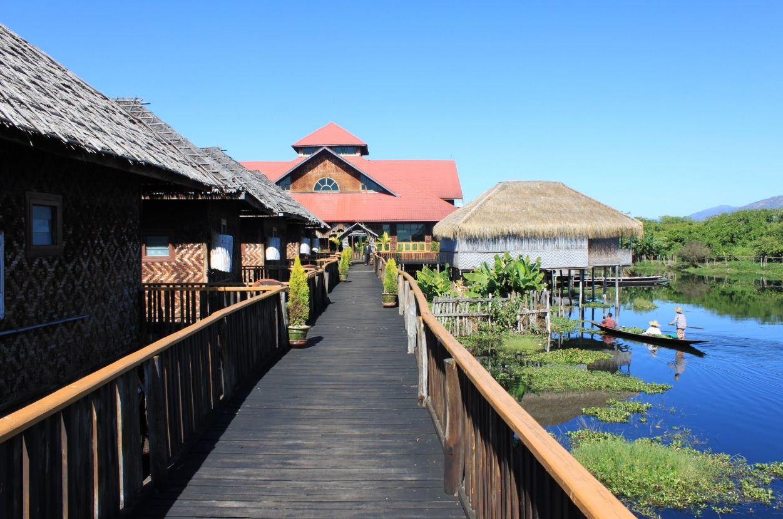 Golden Island Cottages Ii Thale U Inle Lake Myanmar