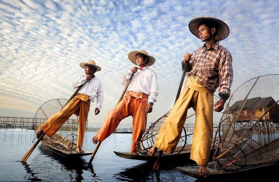Inle Lake Fisherman 3