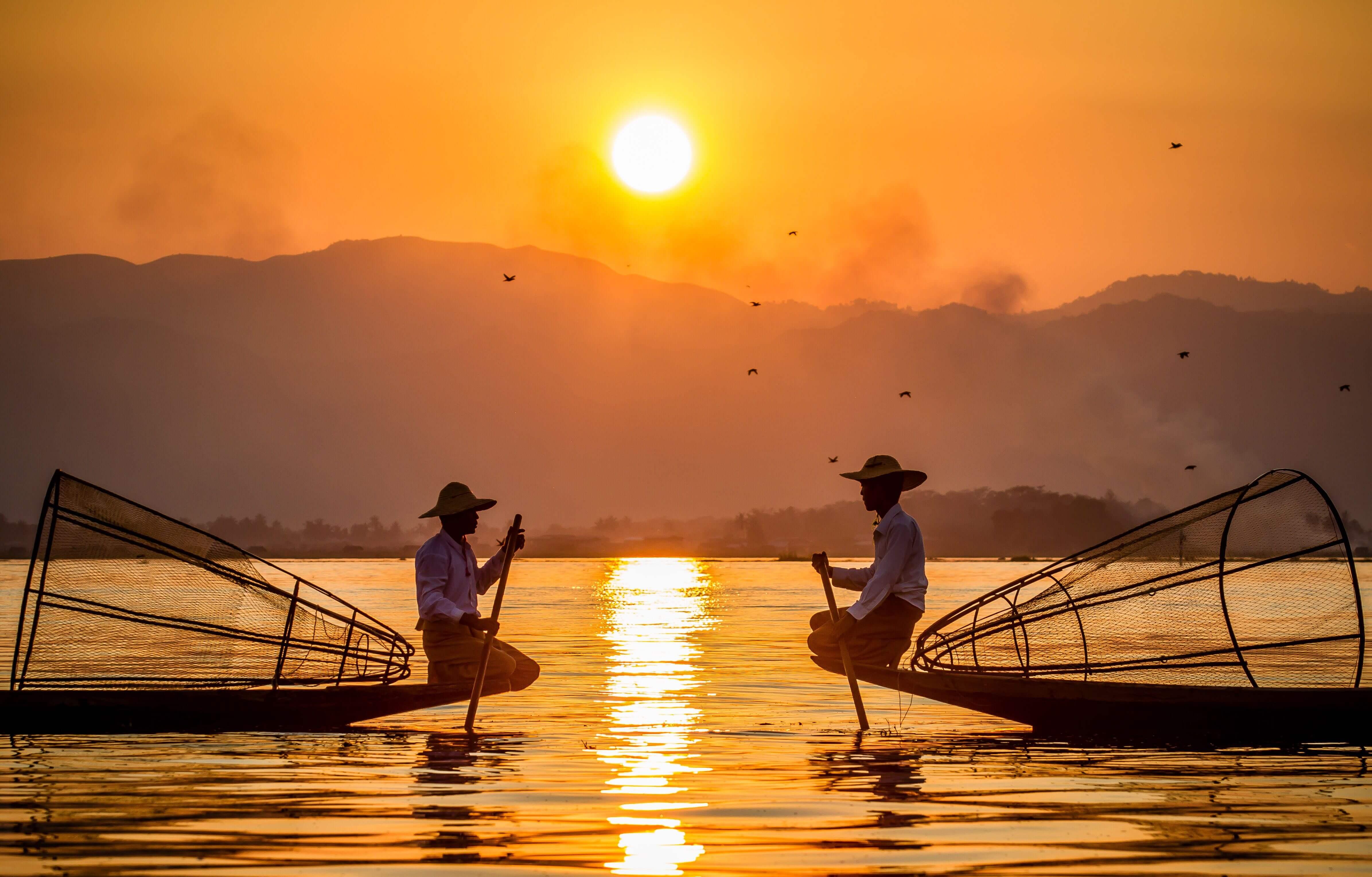 Inle Lake Fisherman 5
