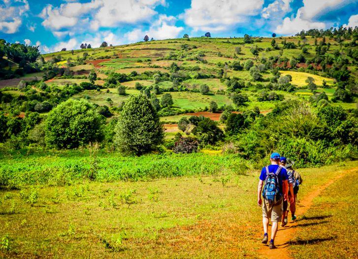 kalaw one day trekking