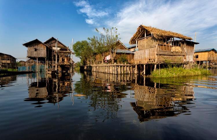 Nam Pan Village in Inle Lake